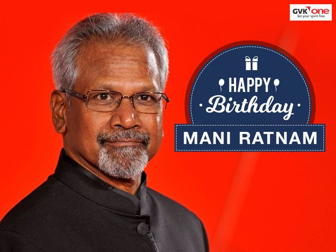 We at wish the master movie maker Mani Ratnam,a very Happy Birthday!