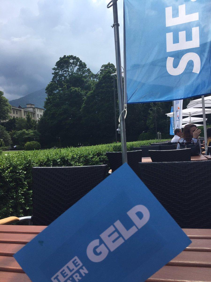 Wirtschaftsmagazin #GELD @TeleBaernTV heute am #SEF17 #LIVETHEWILD in #Interlaken