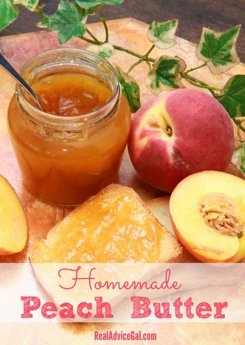 Learn how to make Homemade Canned Peach Butter