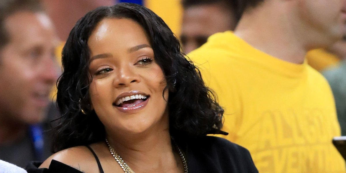 d253823339f Rihanna stole the show at Game 1 of the NBA Finals