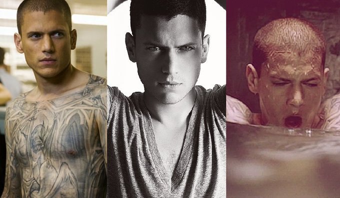 Happy 45th(!) birthday Wentworth Miller! The Prison Break star\s hottest ever moments: