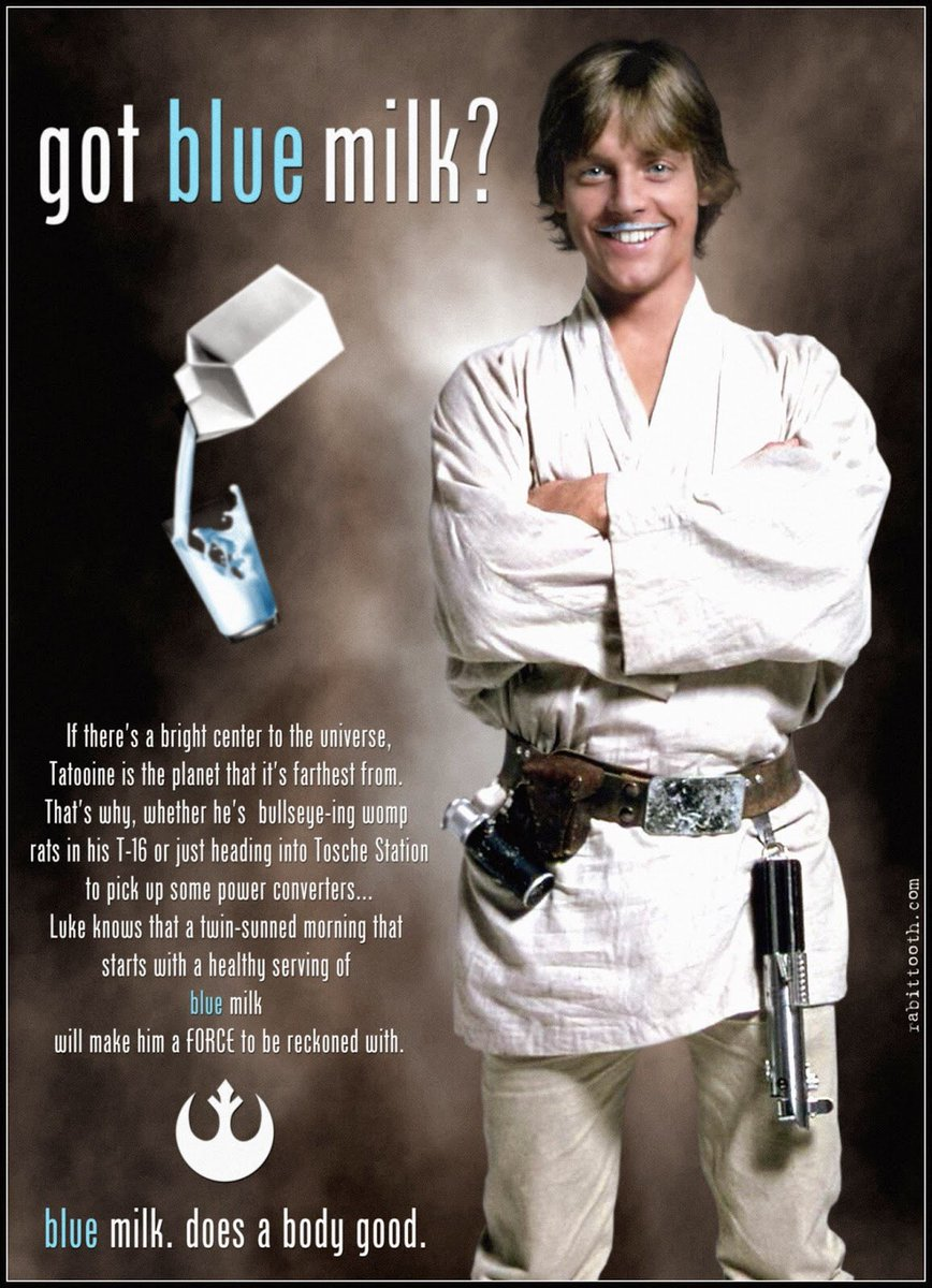 @starwars @StarWarsUK did you also know today is #NationalMilkDay <br>http://pic.twitter.com/1WZFuMhTSg