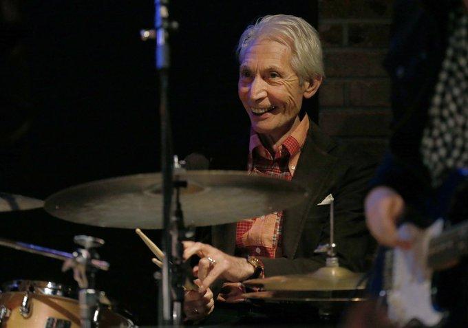 Happy birthday to drummer, Charlie Watts!