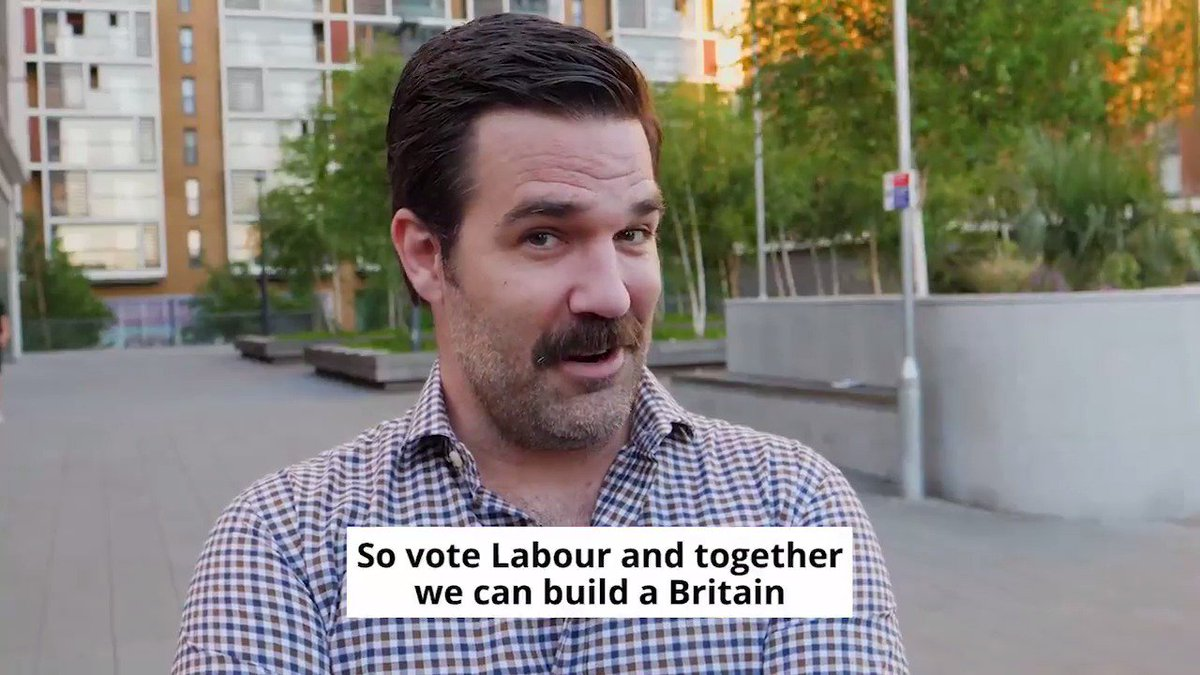 I could listen to Rob Delaney's lovely & wonderful voice on any topic, all day. But especially about voting Labour. https://t.co/Hn9DmUosMA