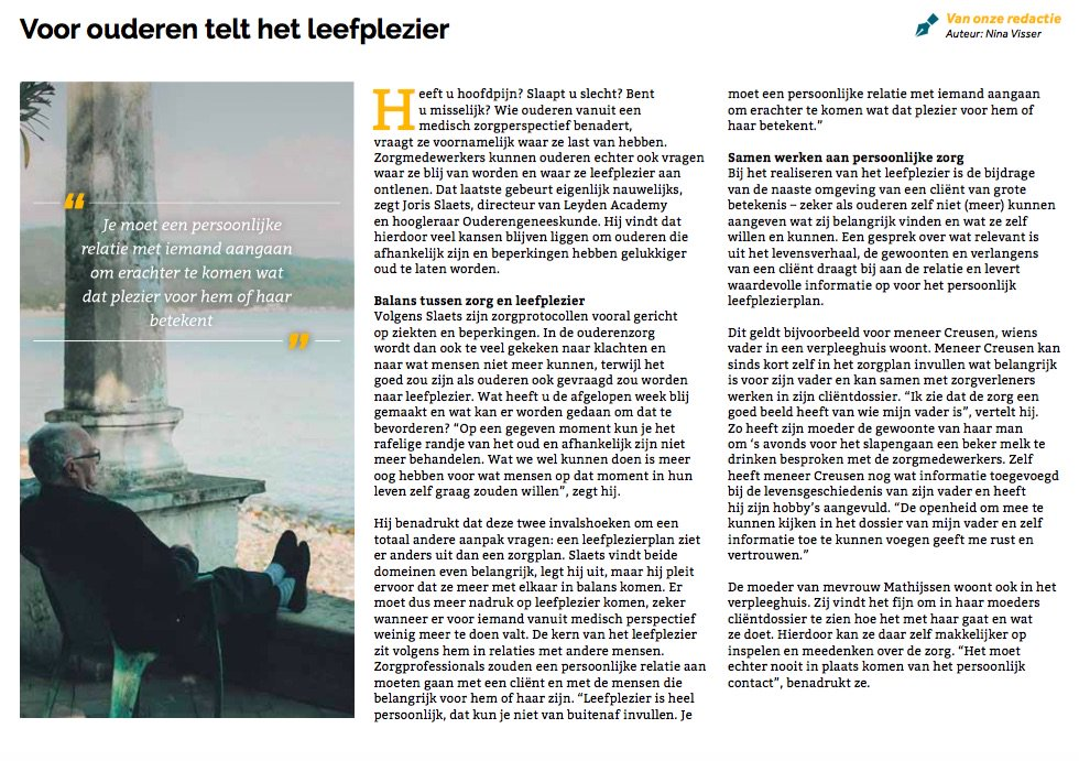 Lable On Twitter Na Publicatie Bijlage Elsevier Pulse Media Group