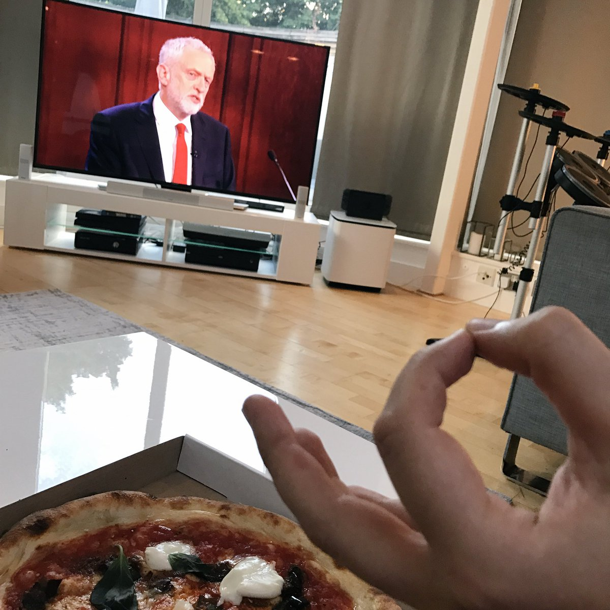 politics and pizza two personal passions