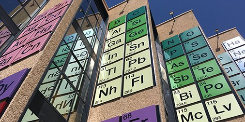 This may be the world's largest (permanent) periodic table ever https://t.co/gGCHnIJvmm https://t.co/3IZ8RkugF6