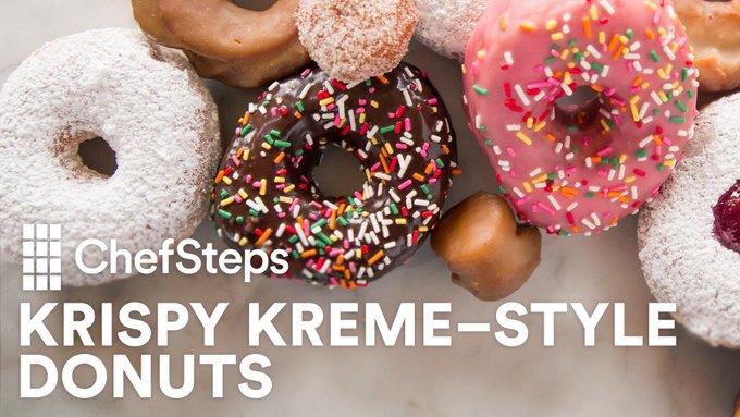 Homemade Krispy Kreme-style Yeasted Donuts