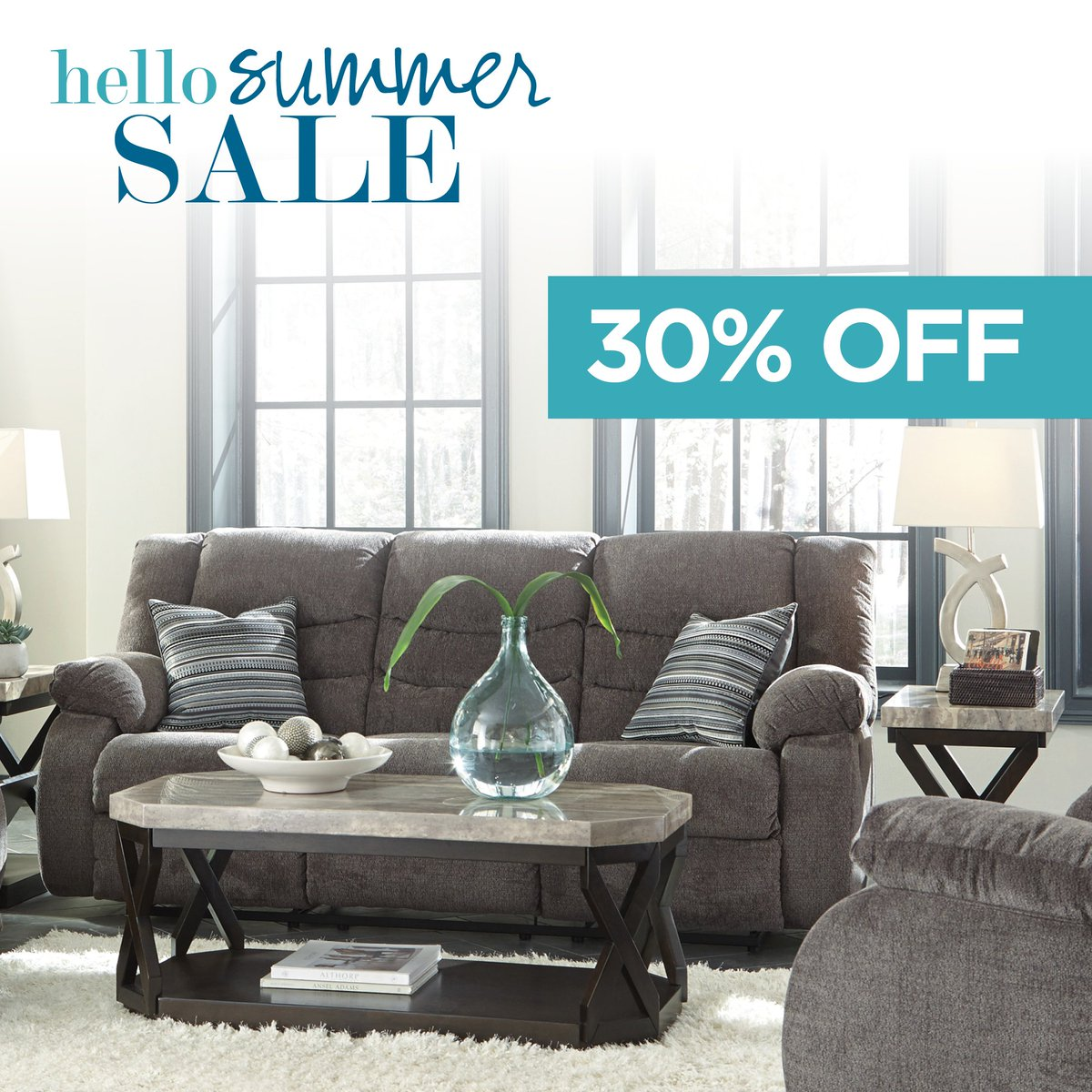 Ashley Homestore Can On Twitter The Tulen Reclining Sofa Puts The