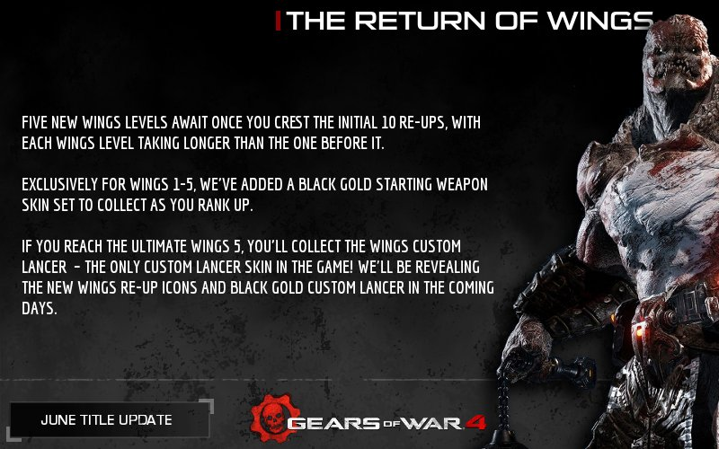 Gears Declassified On Twitter Wings The Symbol Of Ultimate