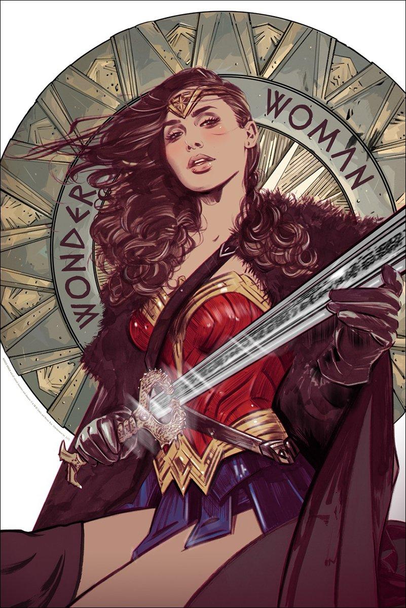 WONDER WOMAN by @tulalotay is ON SALE NOW! #wonderwoman https://t.co/hGiA6dnt8I https://t.co/fB2VIiCBry