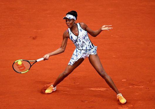 Tennis, Roland Garros: Venus Williams e Novak Djokovic agli ottavi di finale degli Open di Francia 2017