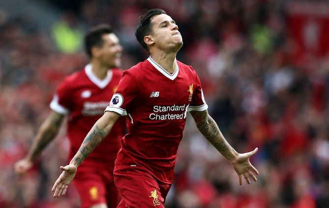 Happy 25th birthday to midfielder Philippe Coutinho.