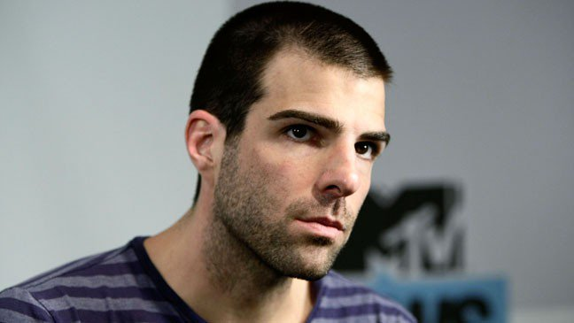 Happy 40th birthday to the openly gay actor Zachary Quinto (