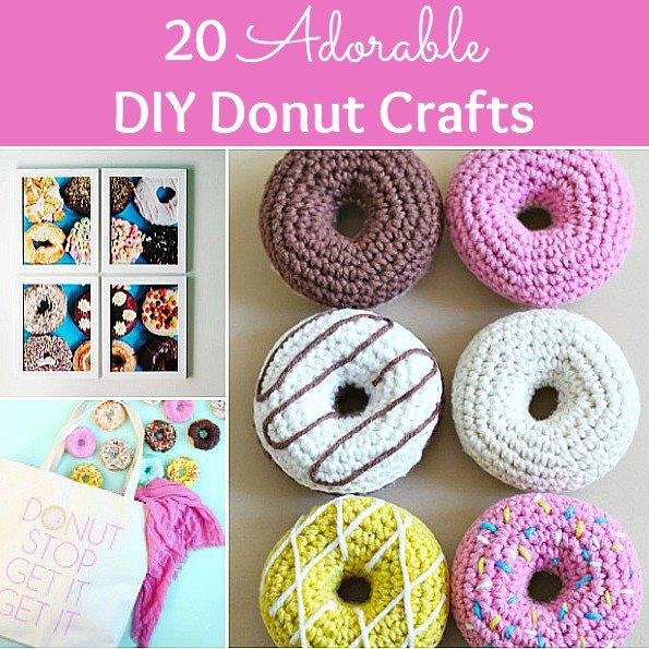 10 Adorable DIY Donut Crafts