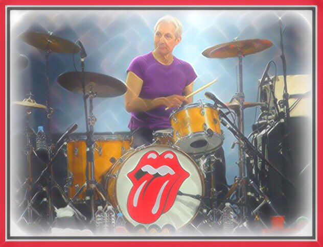 Happy Birthday to the Drummer of The Worlds Greatest Rock And Roll Band...The Charlie Watts!