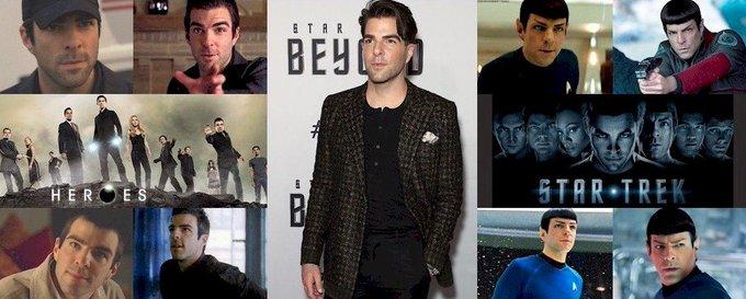 Hoy cumple 40 años Zachary Quinto (Sylar en y Spock en Happy Birthday