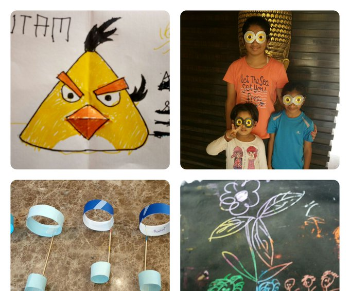 Paper, Paints and Kids: 4 Steps (with Pictures)
