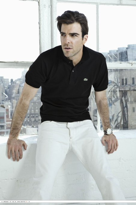 Happy 40th Birthday Zachary Quinto, you perfect human being.