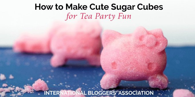 How to Make Cute Sugar Cubes for Tea Party Fun