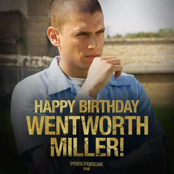 Happy birthday Wentworth Miller