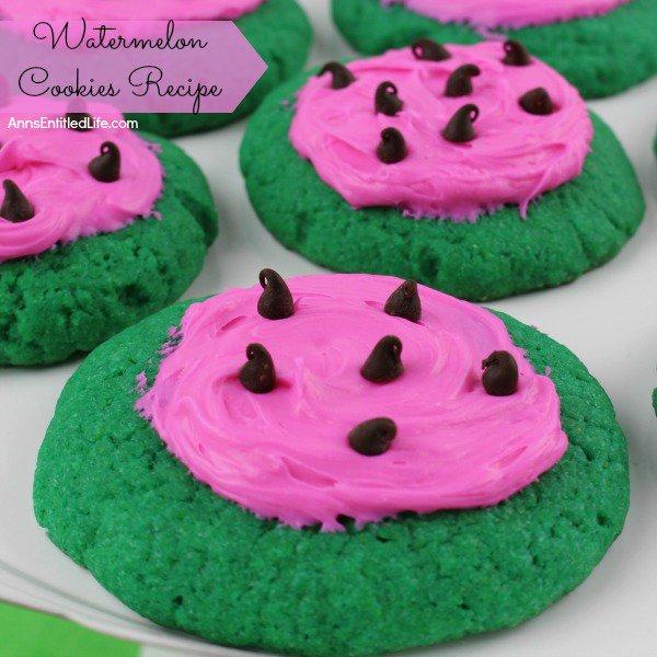 Watermelon Cookies Recipe