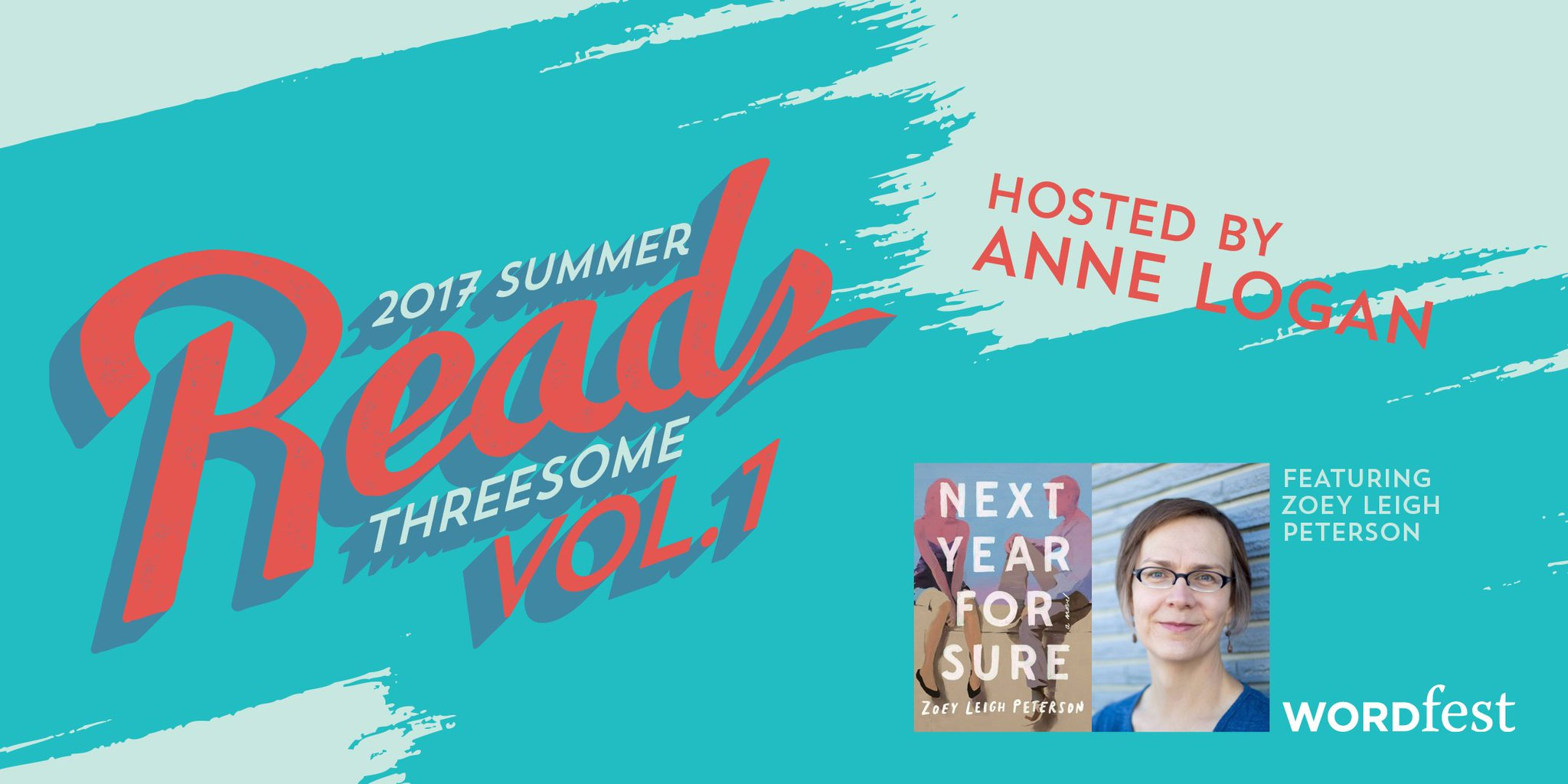 """Ever been caught in a love triangle? Explore love in """"Next Year For Sure"""" at our Summer Reads Threesome book club https://t.co/CoxUbtqENp https://t.co/eZm30qVJ1S"""