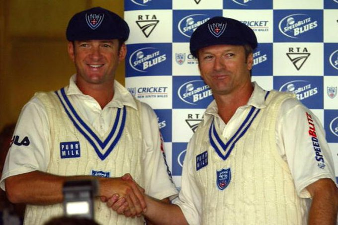 Happy 52nd birthday to Australian cricketers Mark and Steve Waugh. Amazing cricketers!
