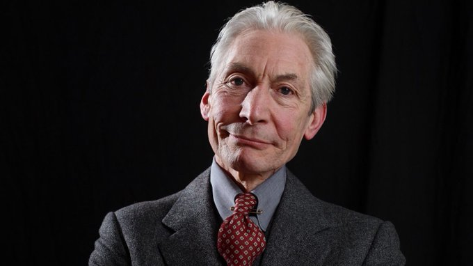 Happy Birthday to the sartorially resplendent Charlie Watts! (You know, Mick Jagger is his singer.)