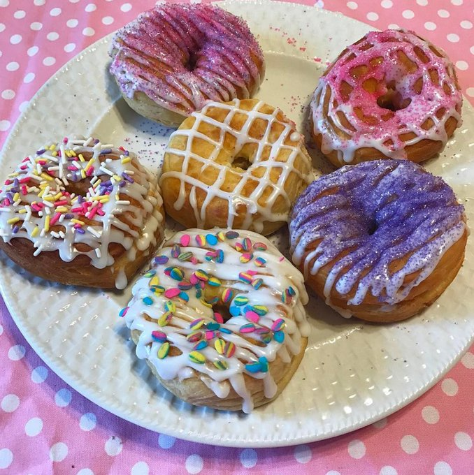 Easter Air Fryer Donuts #Recipe