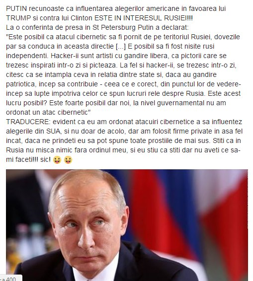 #Putin&#39;s admission that he influenced #USElections2016 and the win of #Trump is in #Russia&#39;s interest<br>http://pic.twitter.com/LB9bUKQuXa