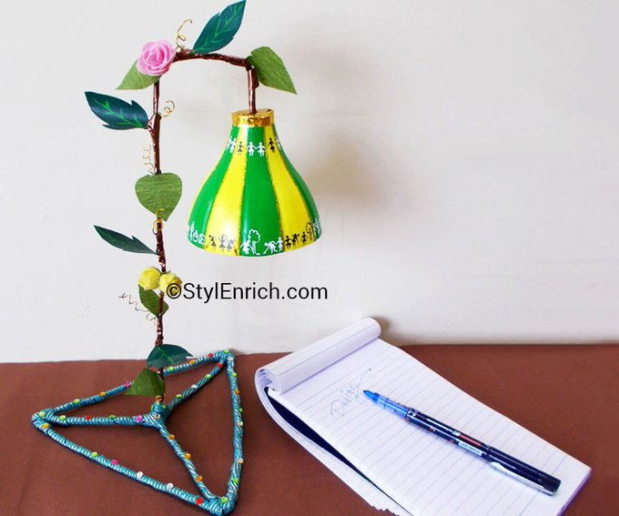 Cute Lampshade Made Using Plastic Bottle!: 11 Steps (with Pictures)://