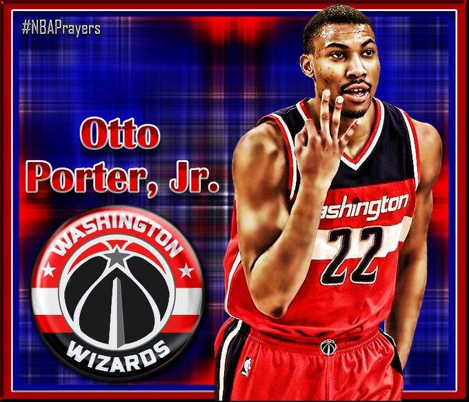 Pray for Otto Porter Jr. ( enjoy a happy birthday and a restful off-season  Otto!