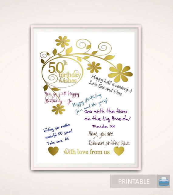 Giftideas Etsy Ifttt 28IZiCd 50th Birthday Poster