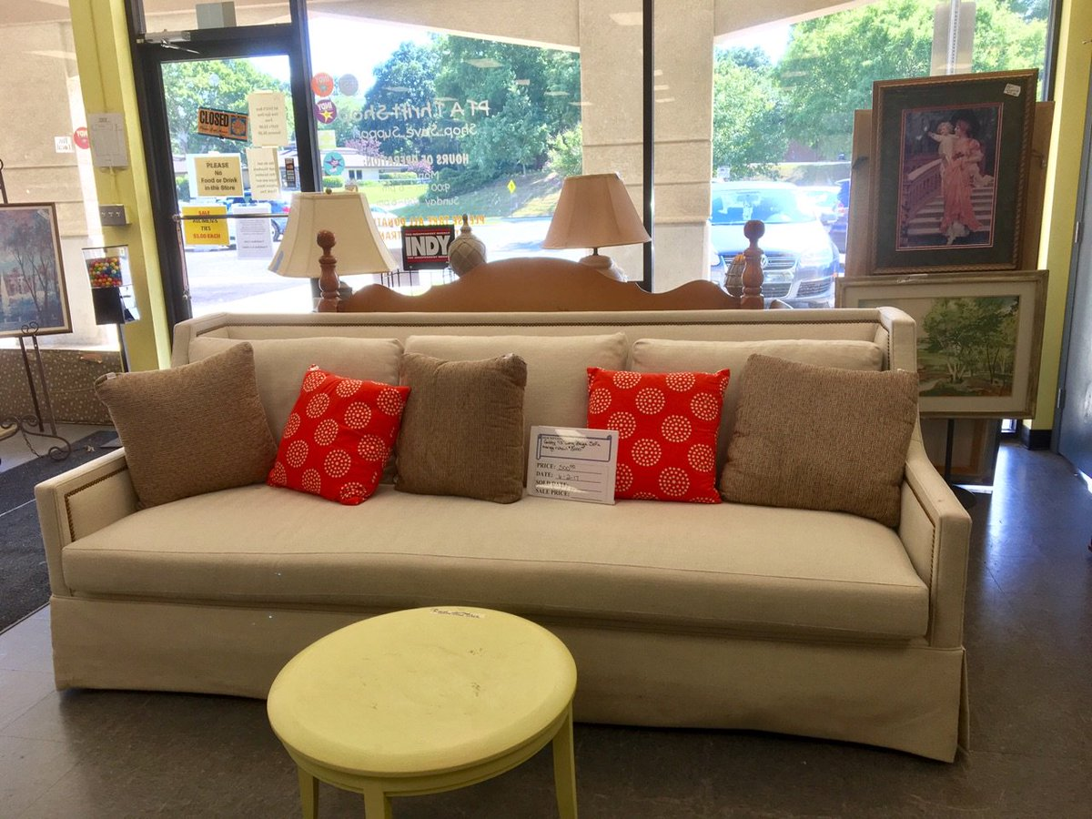 Furniture stores in chapel hill nc - Pta Thrift Shop On Twitter Need A New Sofa We Just Got In This Lovely 93 Piece From Gabby At Our Chapel Hill Plaza Store