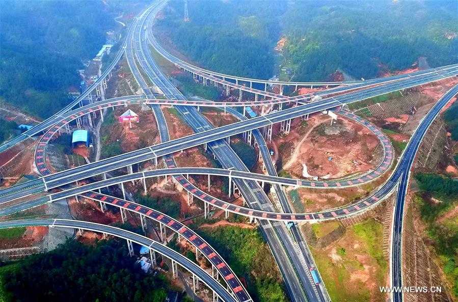 IMAGE: Highway and bridge network in China's Hubei Province  (Photographer: Song Wen)