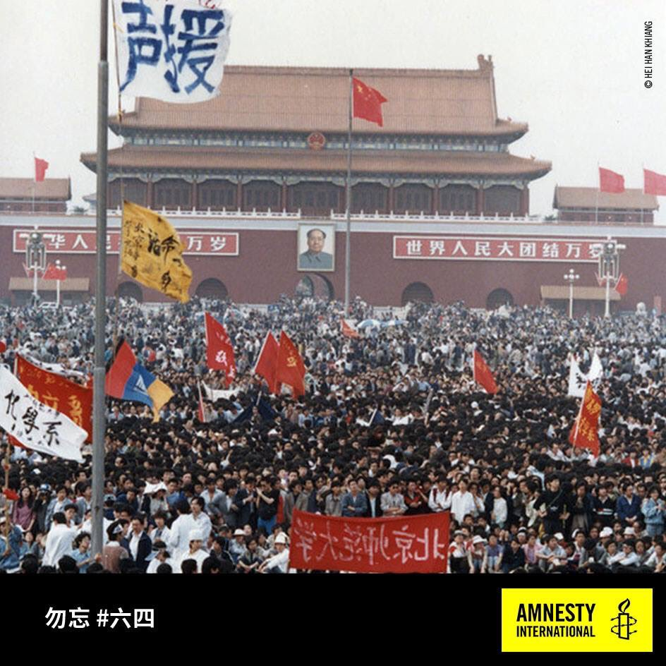 .@amnesty's statement to commemorate 28th anniversary of #Tiananmen #June4 crackdown: https://t.co/oUSc3K4uXQ https://t.co/jjZqmt4xKn