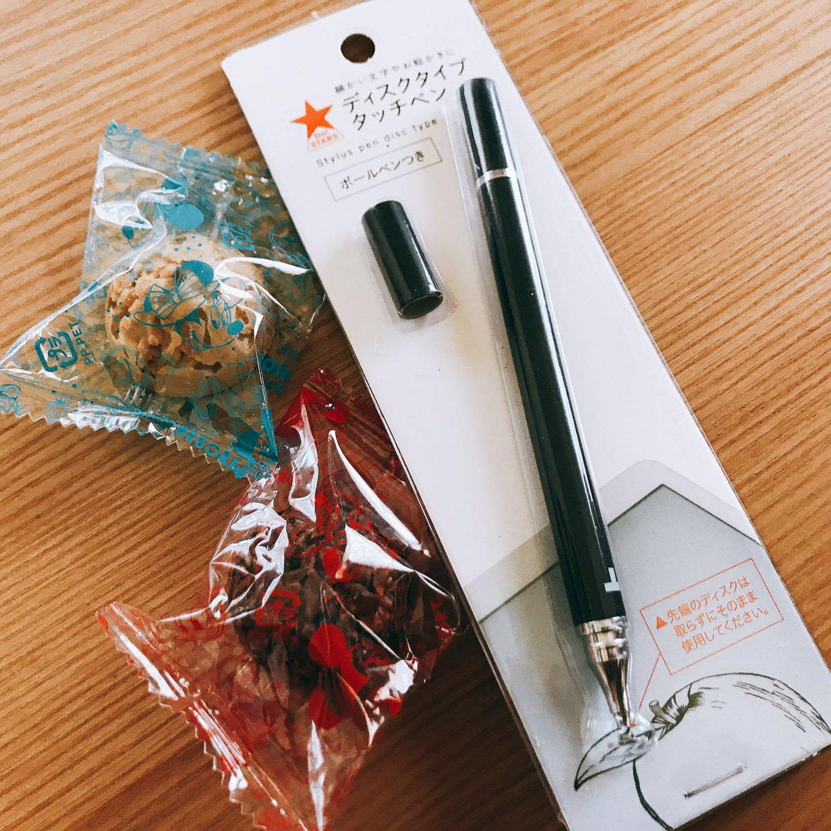 test ツイッターメディア - #キャンドゥ タッチペン買ってみた??  おやつは息子の修学旅行お土産 https://t.co/QKbVdzvFDC