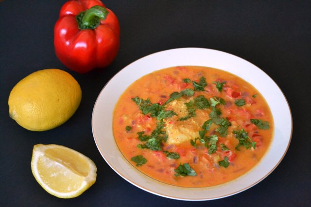 Tanzanian Fish in Coconut Curry