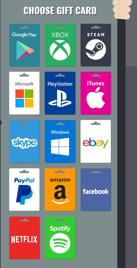 microsoft gift card paypal