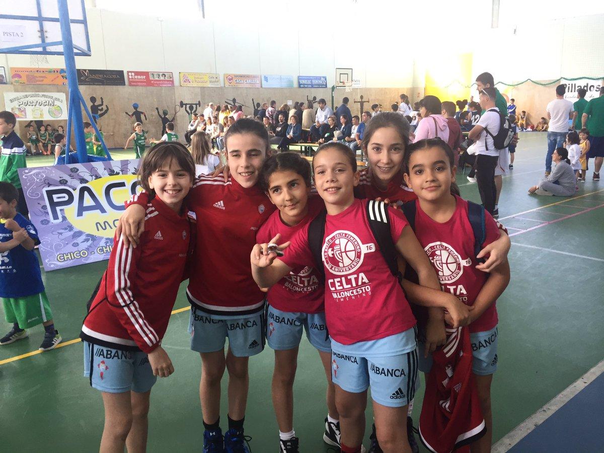 Ya estamos en Porto do Son. Día de minibasket y diversión en el Torneo Benjamín de @cbportodoson