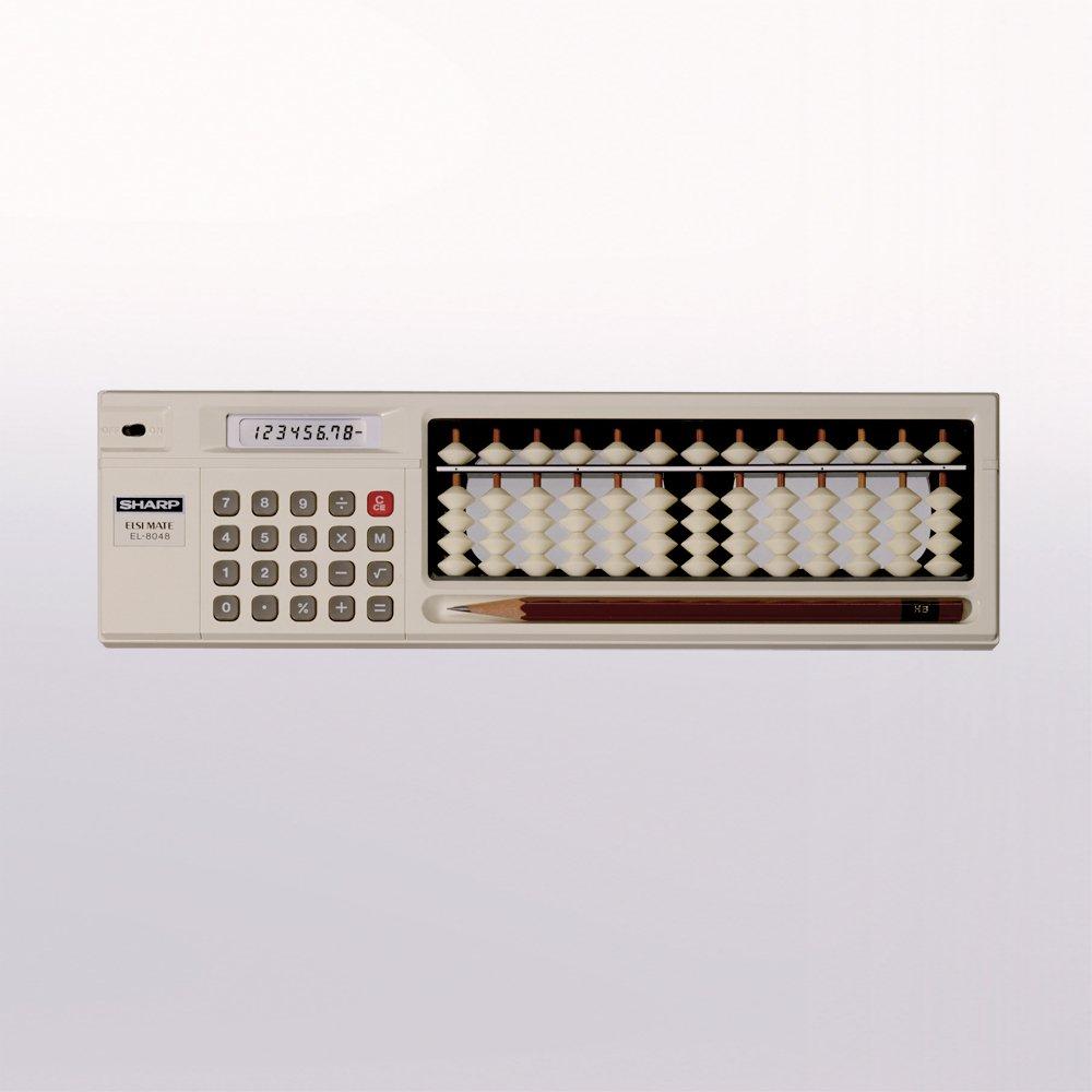 信じてくれないと思いますが、昭和の時代、電卓が普及しつつもその計算結果が信用できない人向けに、そろばんが合体した電卓がありました。いまでいうと、エクセルが信用できず電卓で検算するストロングスタイル。