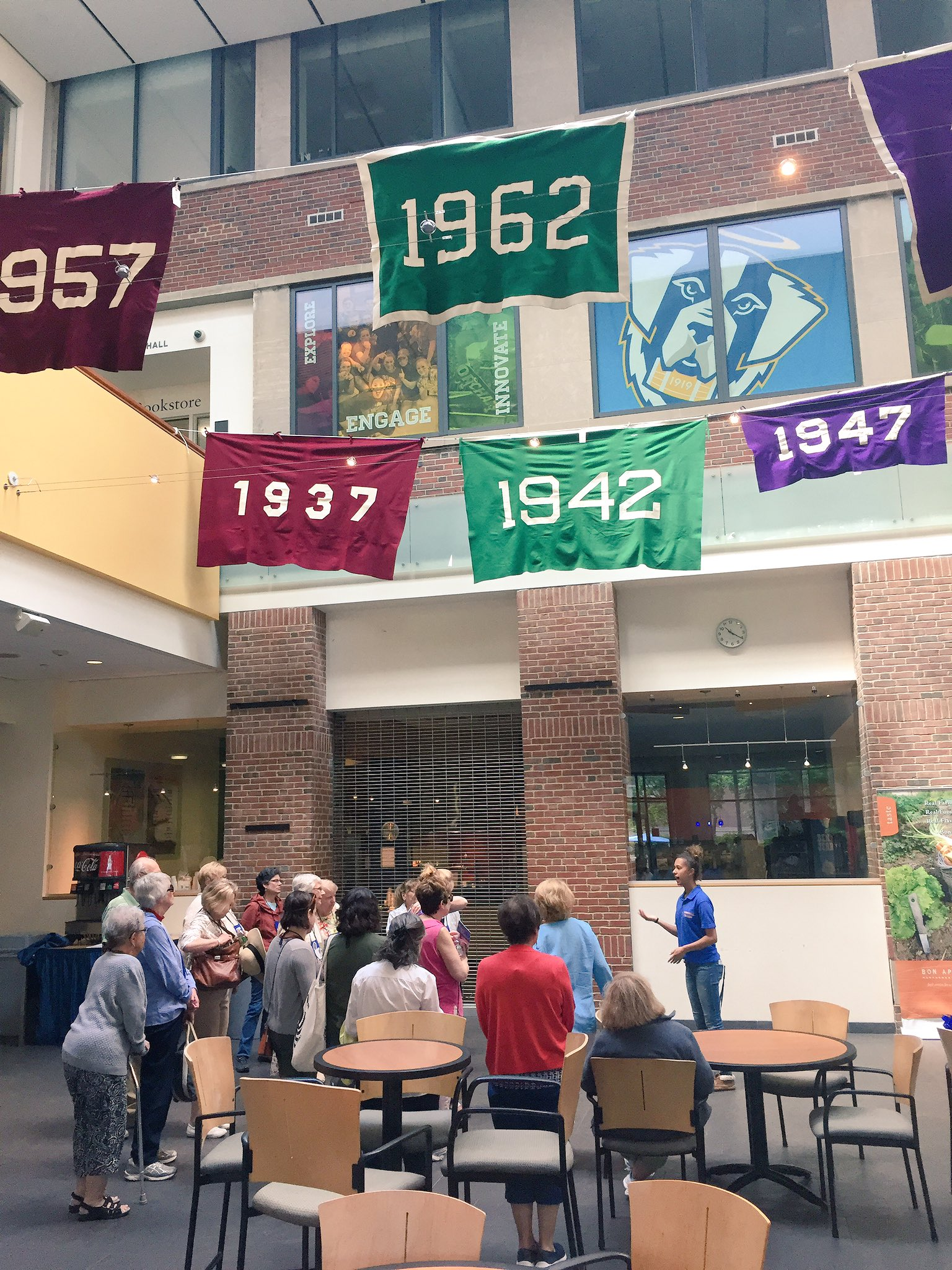 Join a student-led campus tour and see what's changed and what's stayed the same. Next tour at 1:30. #ECReunion https://t.co/GTr6rCmQV6 https://t.co/oVe3WeNWw9
