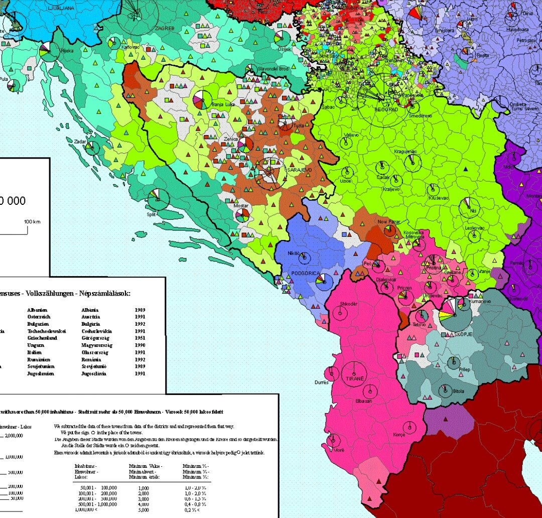 Balkan Facts On Twitter Guillaume Lejean S Ethnic Map Of European