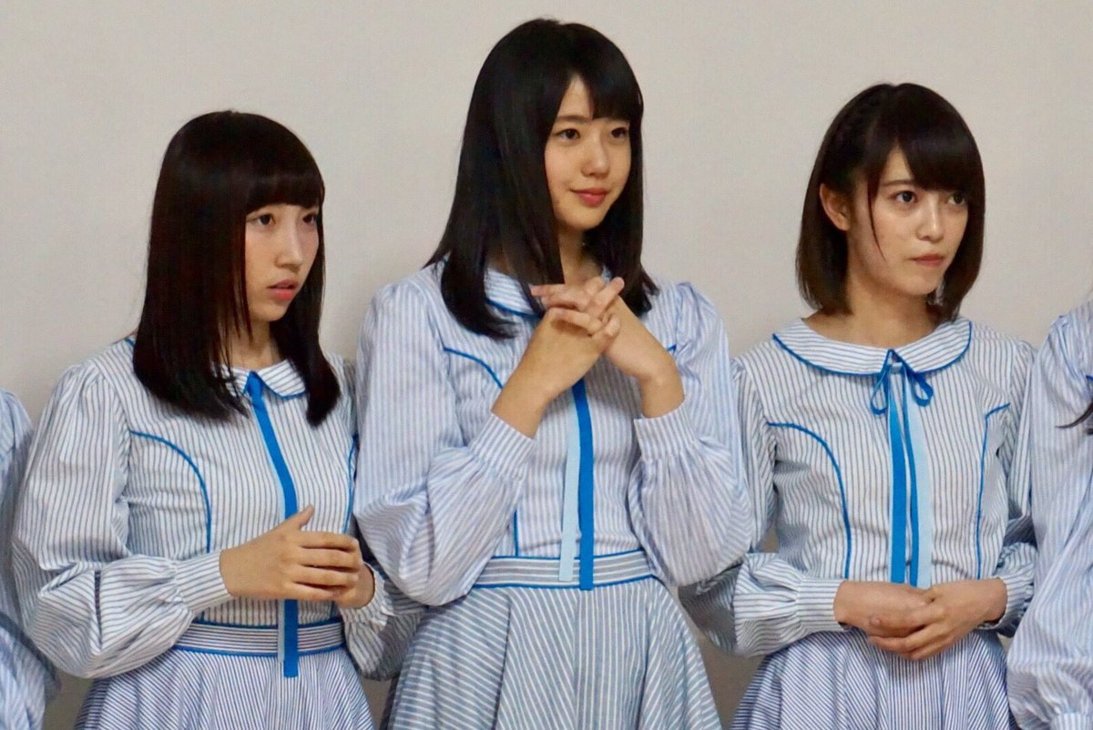 "STU48: STU48 On Twitter: ""ミニライブのオフショット②📷 岡田キャプテンからの確認事項を真剣に聞くメンバー"