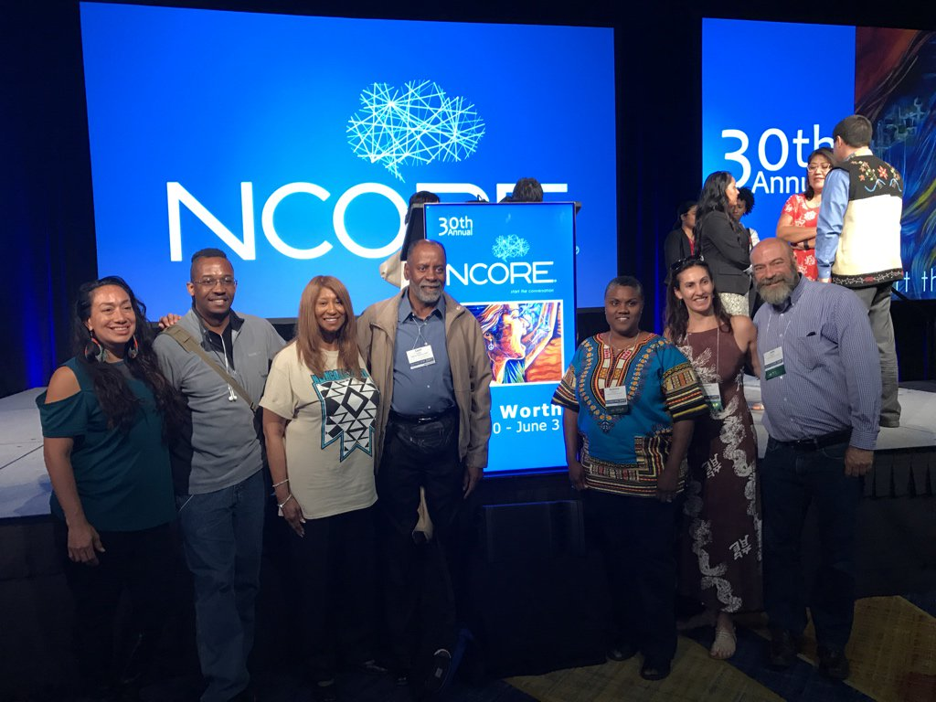 Had a great time at #ncore2017 w/ my fellow California Faculty Assn. Council for Affirmative Action activists! #NCORE @CFA_News https://t.co/bt7RbOFDr6