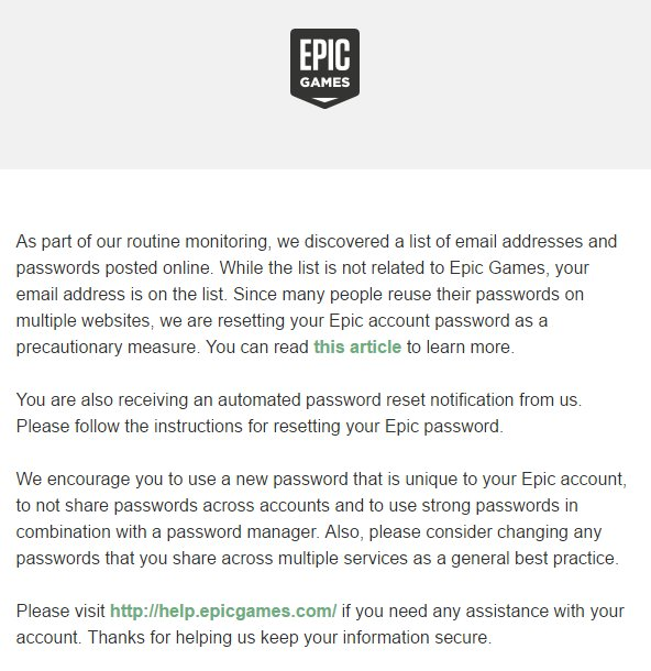 Epic Games on Twitter: