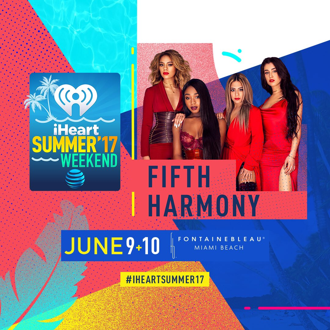 Where the #Harmonizers at? I KNOW you're ready for @FifthHarmony at #iHeartSummer17 tonight! https://t.co/2LdcpMfSk0