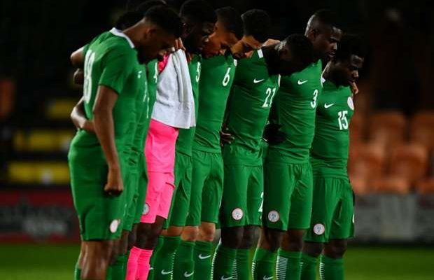 Super Eagles lost to South Africa at home in Uyo, Akwa Ibom, with two goals margin on Saturday during a 2019 African Cup of Nations (AFCON) qualifier.