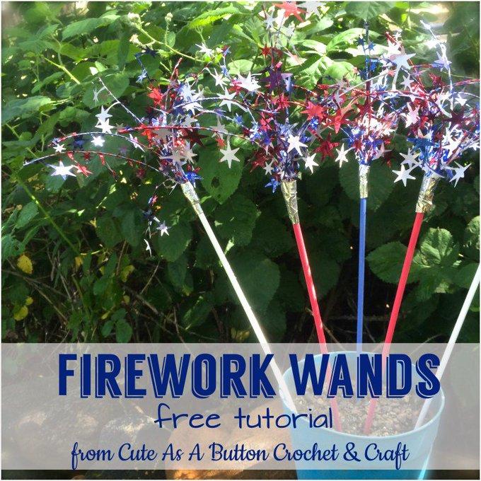 Firework Wands Tutorial